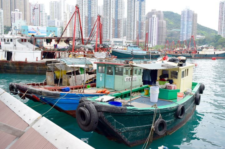 travel, boats, hong kong