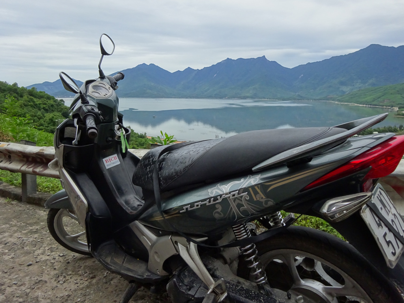 motorbike, vietnam, travel