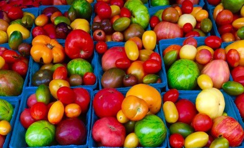 farmers' market, fruits, vegetables, new york city