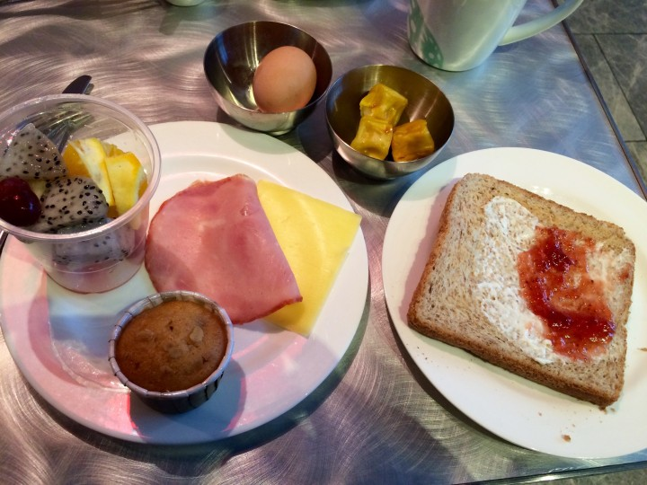 hong kong, breakfast, travel, asia