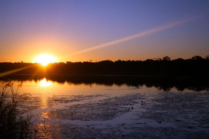 south africa, national park, sunset, sundown, africa