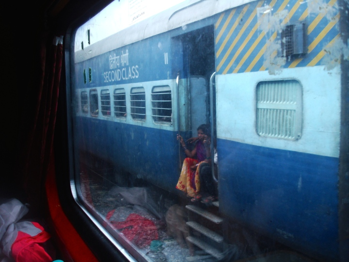 india, train, railway, travel