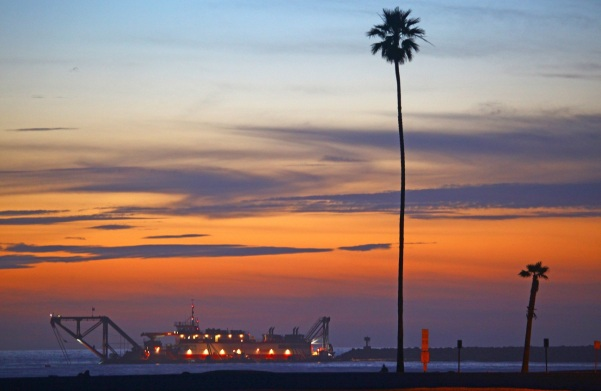 california, sunset, travel