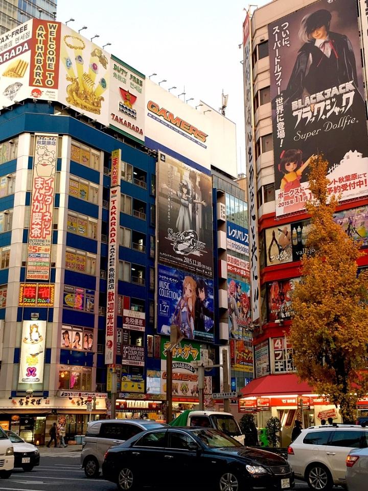 tokyo, billboard, city, travel, japan