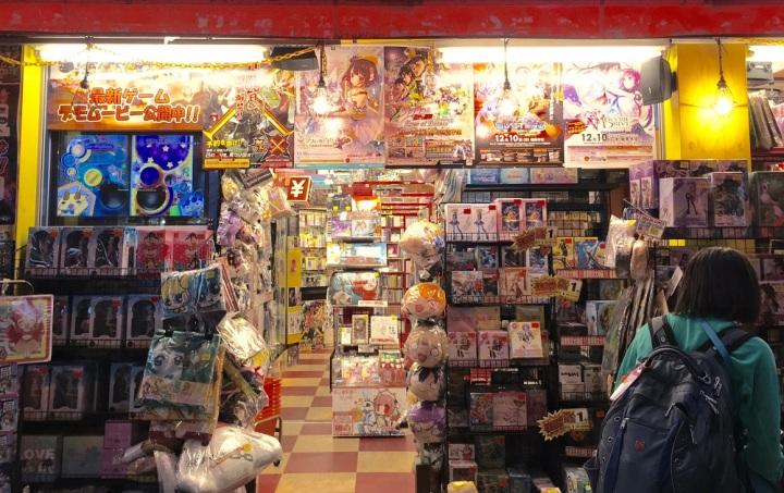 anime, store, tokyo, japan, travel