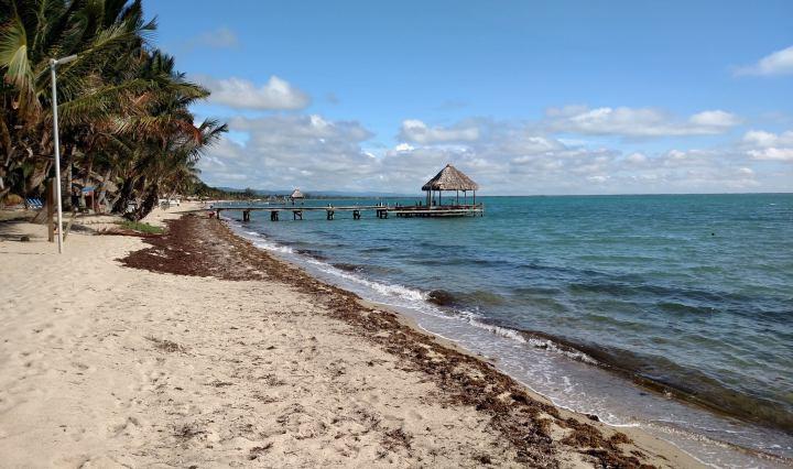 belize, hopkins, beach, travel