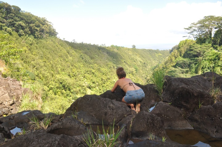 hawaii, hike, akaka