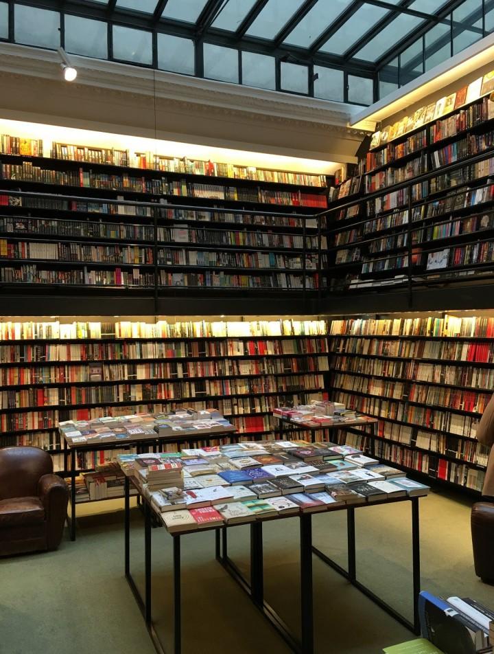 paris, bookstore, france, travel