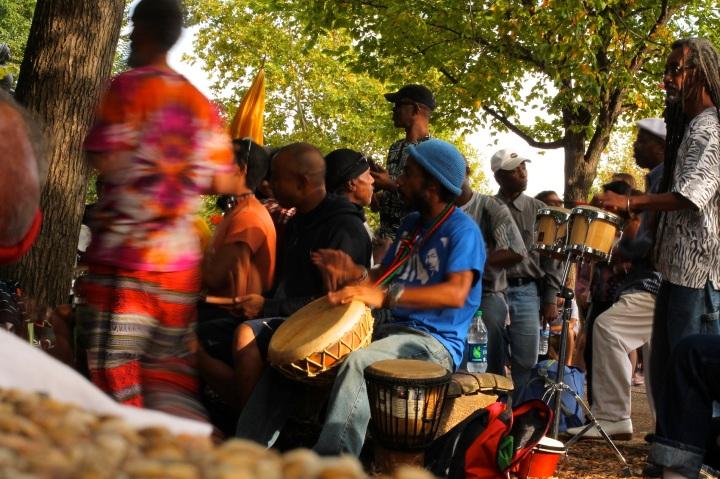 washington, dc, drum circle
