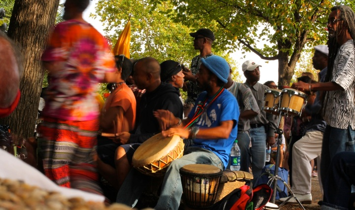 washington, dc, drum circle