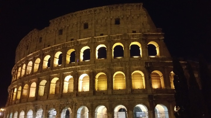 rome, valentine's day, colloseum