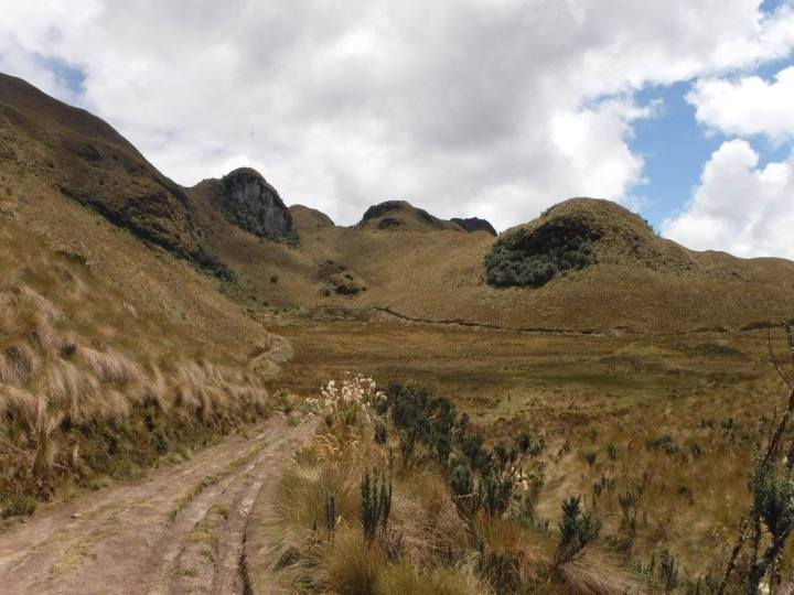 ecuador, andes, hiking, nature