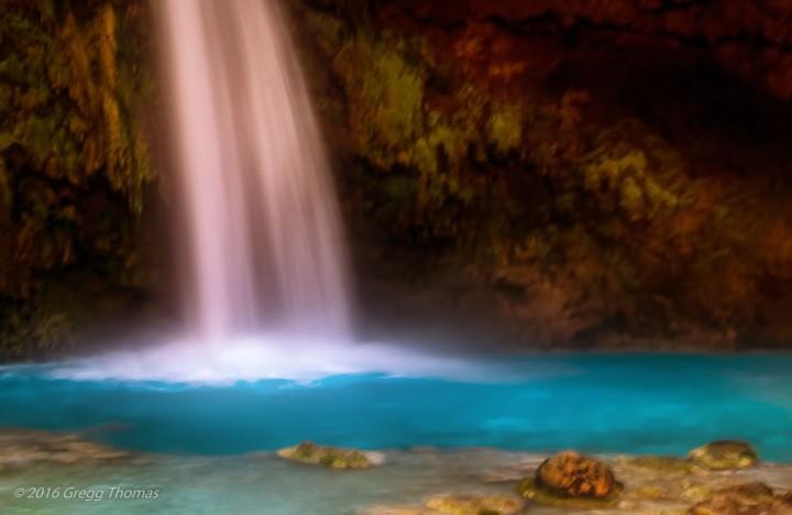 havasu falls, arizona, nature, landscape, travel, waterfall