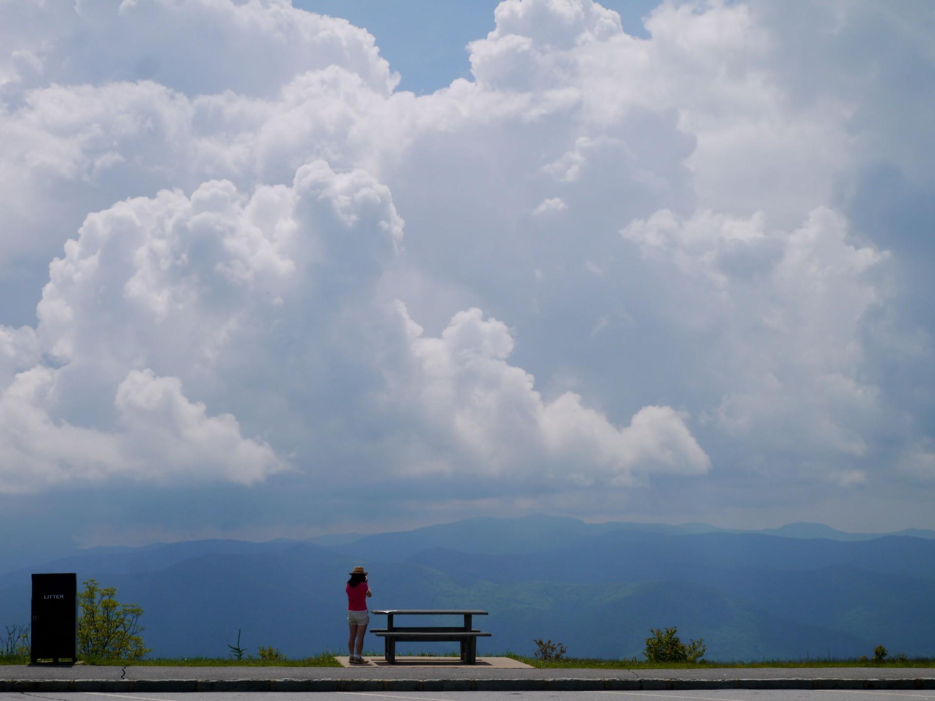 waterrock knob, nature, north carolina, landscape, mountains