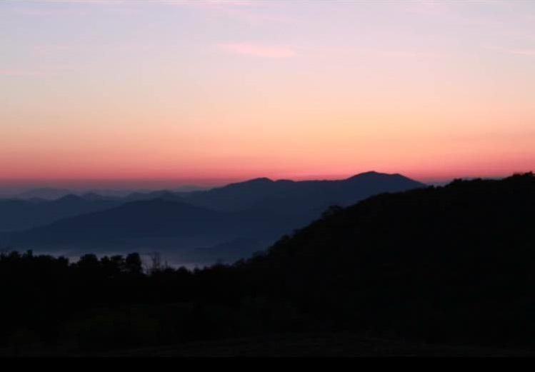 smokey mountains, travel, susnet