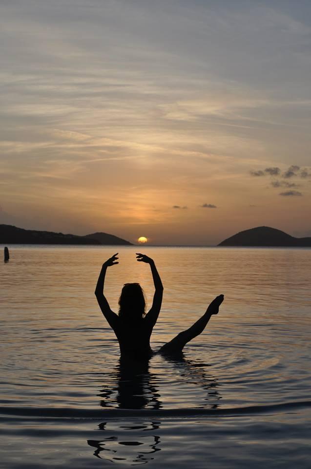 puerto rico, yoga, nature, sunset
