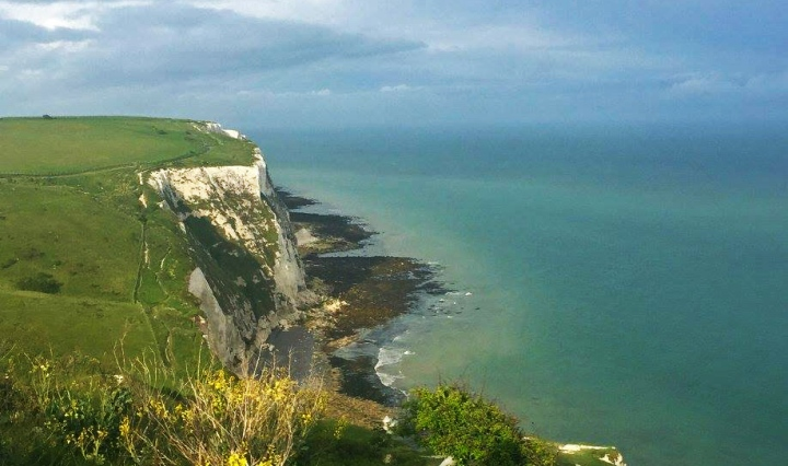 travel, europe, england, nature, cliffs, dover