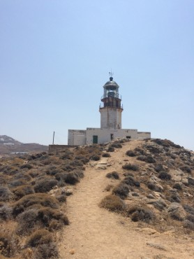 greece, lighthouse, travel