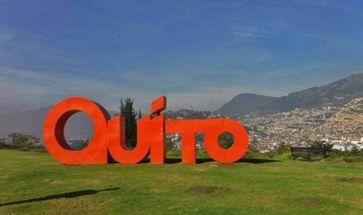 quito, travel, view