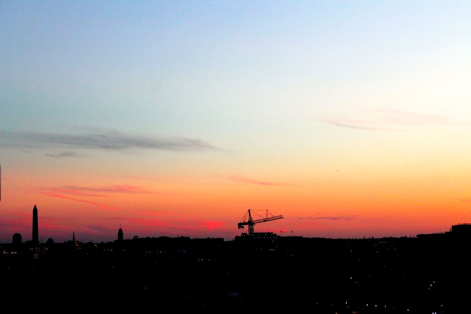 washinton, dc, sunset