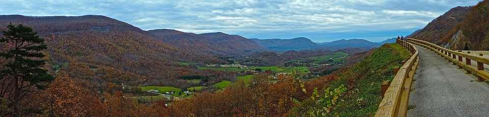 nature, landscape, cumberland mountains