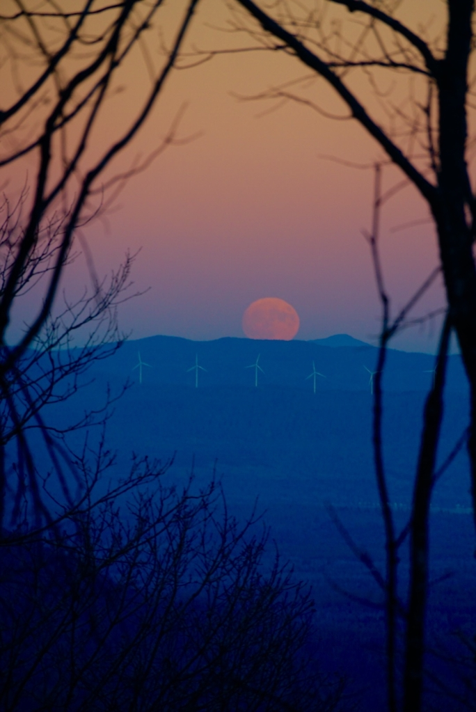 super moon, nature, travel, maine
