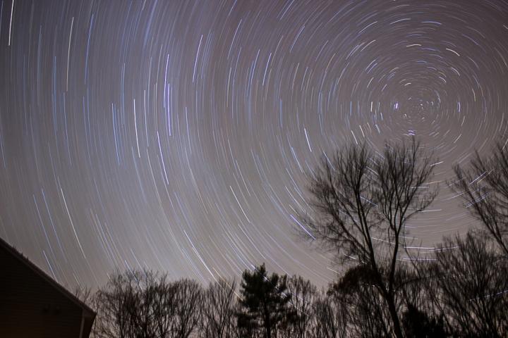 stars, night, constellation